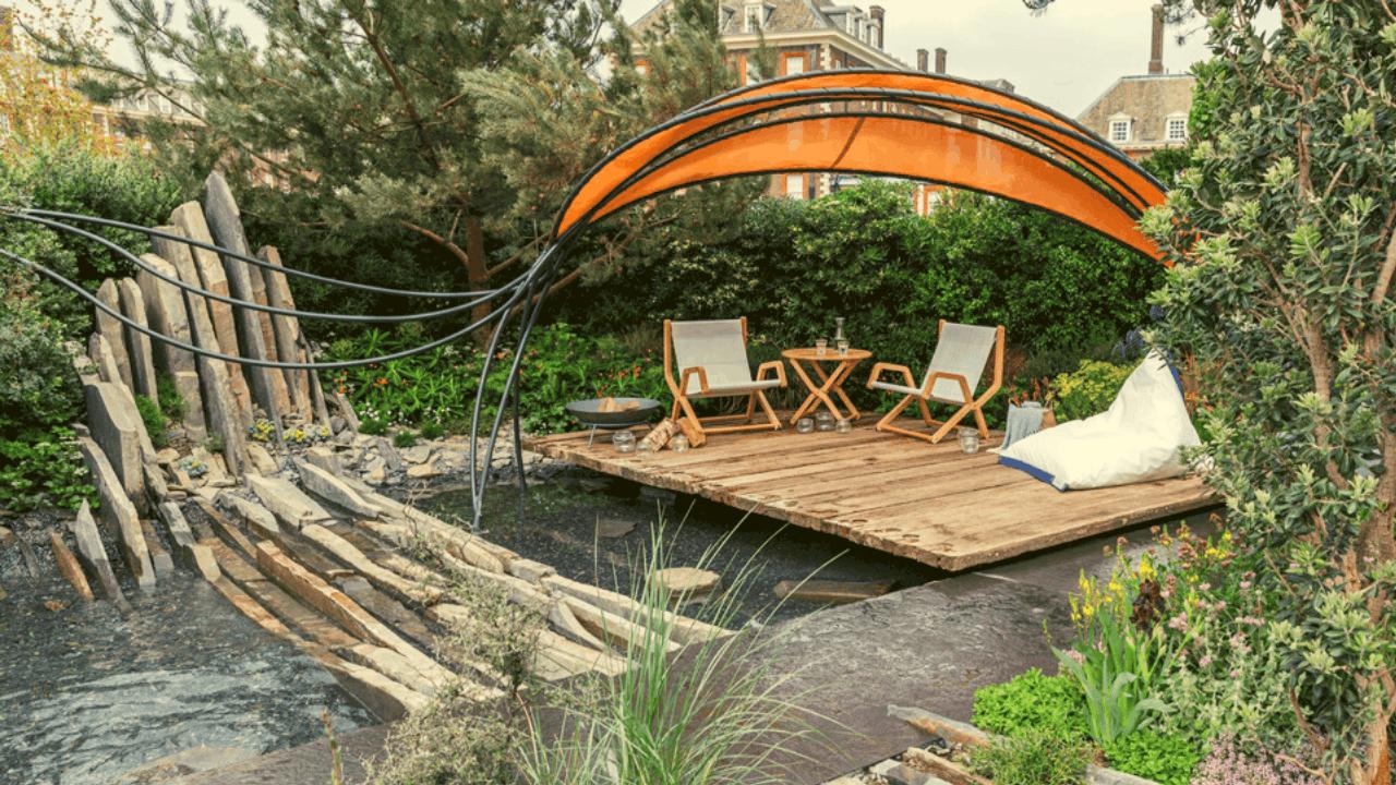 the facebook garden design from chelsea flower show
