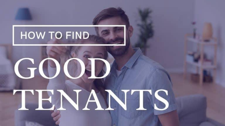 finding good tenants